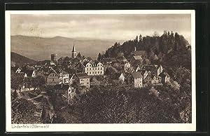 Ansichtskarte Lindenfels, Gesamtansicht