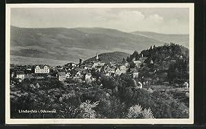 Ansichtskarte Lindenfels, Ortsansicht