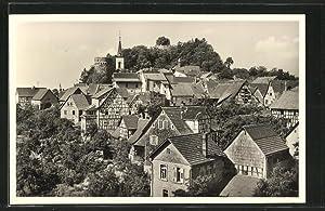 Ansichtskarte Lindenfels, Blick vom Terrassenkaffee