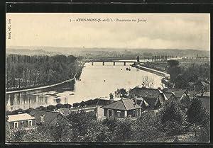 Carte postale Athis-Mons, vue générale sur Juvisy