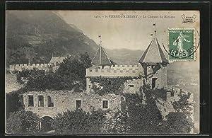 Carte postale Saint-Pierre-d'Albigny, Le Chateau de Miolans