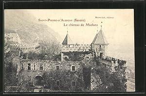 Carte postale St-Pierre-d'Albigny, le Chateau de Miolans