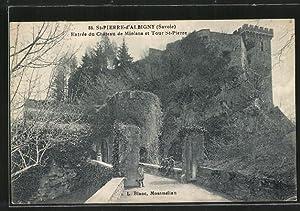 Carte postale St-Pierre-d'Albigny, Entree du Chateau de
