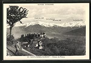 Carte postale St-Pierre-d'Albigny, Chateau de Miolans