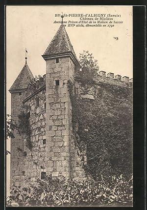 Carte postale Saint-Pierre-d'Albigny, Chateau de Miolans