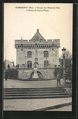 Carte postale Clermont, Donjon de l'Hôtel de