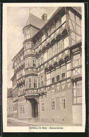 Ansichtskarte Stolberg, Blick auf Konsistorium
