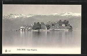Cartolina Isola Bella, Lago Maggiore