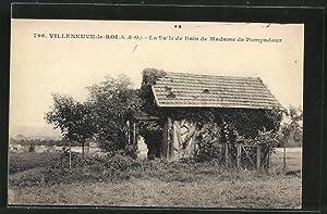 Carte postale Villeneuve-le-Rois, La Salle de Bain