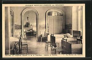Carte postale Arguel, Clinique Medicale, Maladies de