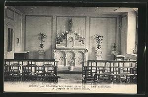 Carte postale Mours, Villa Saint-Régis, La Chapelle