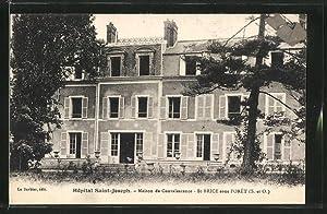 Carte postale Saint-Brice-sous-Foret, Maison de Convalescence, Hopital