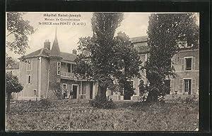 Carte postale Saint-Brice-sous-Foret, Hopital Saint-Joseph, Maison de