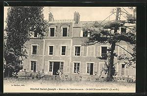 Carte postale St-Brice-sous-Foret, Hopital Saint-Joseph, Maison de