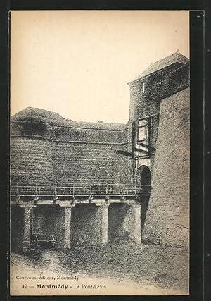Carte postale Montmédy, le Pont-Levis