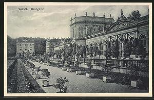 Ansichtskarte Kassel-Karlsaue, Ansicht der Orangerie