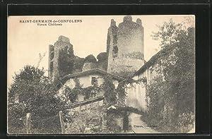 Carte postale Saint-Germain-de-Confolens, Vieux Chateau