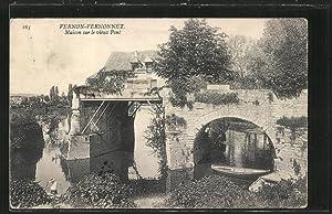 Carte postale Vernonnet, la maison sur le
