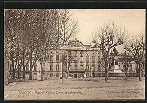 Carte postale Macon, l'Hotel de Ville et
