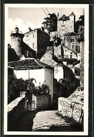Carte postale Puy-l'Eveque, Le Vieux et la