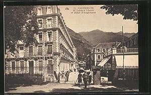 Carte postale Cauterets, Boulevard Latapie Flurin et