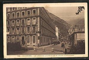 Carte postale Cauterets, Le Boulevard Latapie-Flurin et