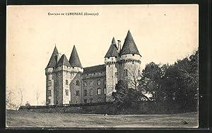 Carte postale Lubersac, Chateau