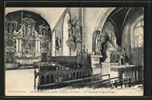 Carte postale Le Merlerault, Intérieur de l'Eglise,