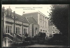 Carte postale Château-la-Vallière, Maison de Santé Louise