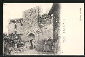 Carte postale Cordes, la Porte des Ormeaux