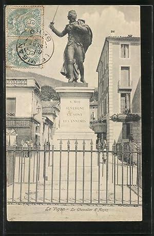 Carte postale Le Vigan, Le Chevalier d'Assas