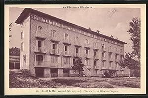 Carte postale Mont-Aigoual, Vue du Grand Hotel