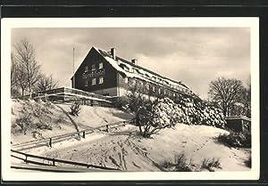 """Ansichtskarte Klingenthal, HO-Sporthotel """"Waldgut"""""""