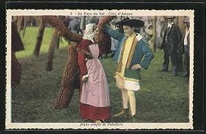 Carte postale Au Pays du Sel, Jeune