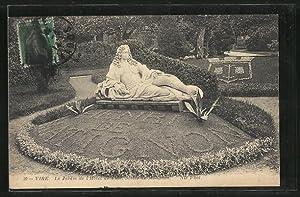 Carte postale Vire, Le Jardin de l'Hotel