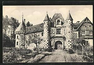Carte postale Saint-Germain-de-Livet, Le Chateau