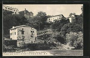 Carte postale Cambo-les-Bains, Quartier Cherry-Kasika, l'Escalier pour