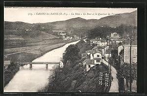 Carte postale Cambo-les-Bains, La Nive, Le Pont