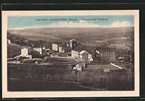 Carte postale Sainte-Foy-l'Argentière, les hospices de vieillards,