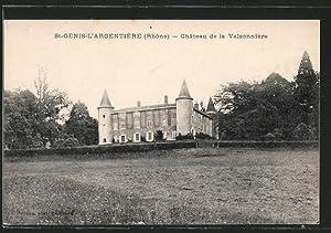 Carte postale Saint-Denis-l'Argentière, le château de la