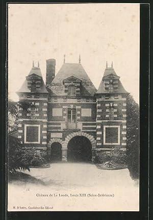 Carte postale La Londe, le Château