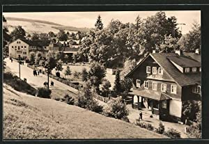 Ansichtskarte Schmiedefeld, Filmbühne und Georg-Schumann-Platz