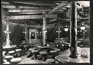 Ansichtskarte Sosa, Konsum-Gaststätte Meiler, Inneres