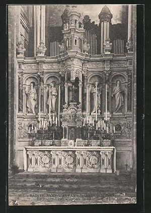Ansichtskarte Sainte-Anne-d'Auray, Interieur de la Basilique, Orgel,