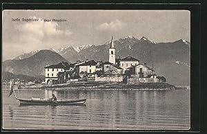 Cartolina Isola Superiore, Lago Maggiore