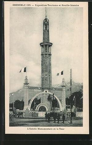 Ansichtskarte Grenoble, Exposition Internationale de la Houille