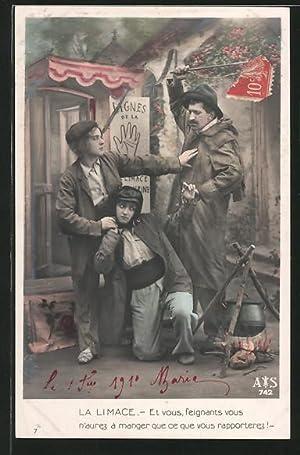 Ansichtskarte Operette Fanfan la Tulipe, La Limace,