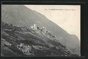 Carte postale Saint-Pierre-d'Albigny, le château de Miolans,
