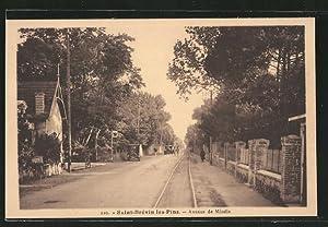 Carte postale Saint-Brévin-les-Pins, Avenue de Mindin