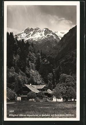 "Ansichtskarte Maltatal, Alpenhotel ""Pflüglhof"""